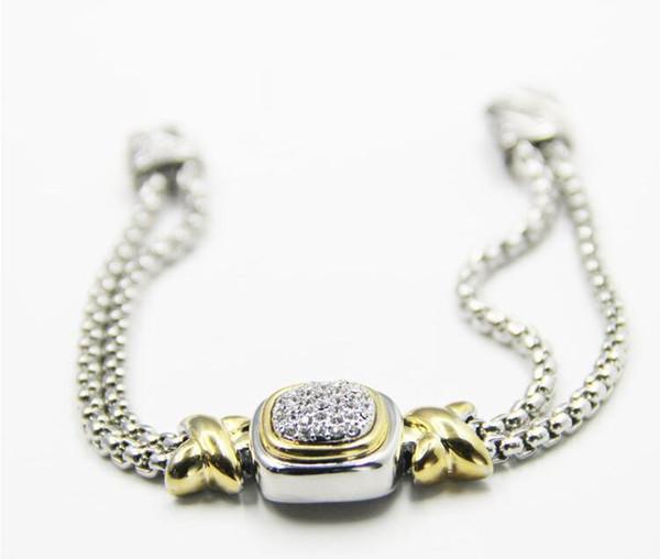 Metall-Magnetkettenbohrer Armband
