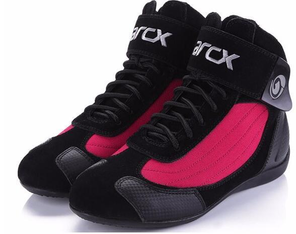 Ventas calientes New Arcx Botas de moto Motocross Botas de carrera de automóvil Motocicleta Motocross Zapatos de protección