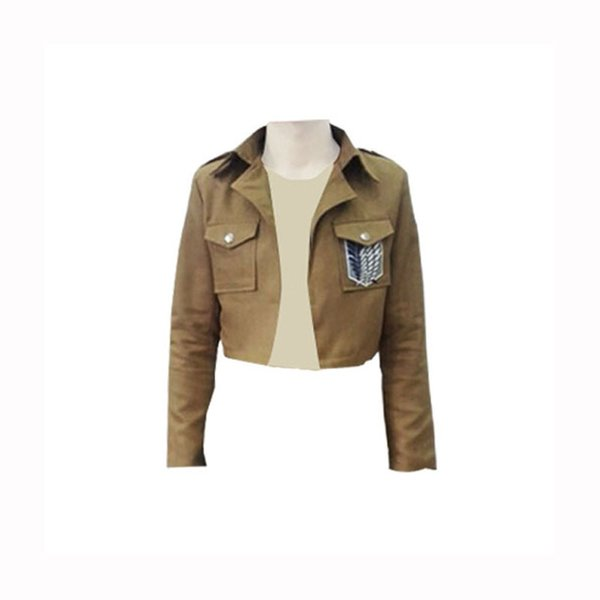 Attack on Titan Jacket Shingeki no Kyojin jacket Legion Cosplay Costumes Jacket Coat Any Size High Quality Eren Levi NEW S-XXXL