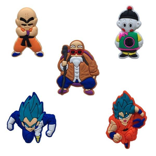 Dragon Ball Z High Quality Hot Fridge Magnets Cartoon PVC Fashion Accessories Refrigerator Magnets Magnetic Stickers Kids Party Gift
