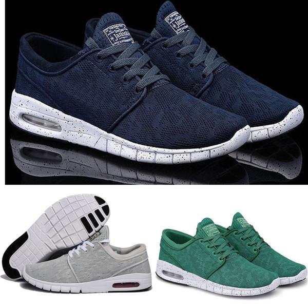 Compre Nike Sneakers Nike Discount Running Shoes 2018 Nuevos SB Stefan Janoski Zapatos Zapatillas Para Mujeres Hombres, Zapatillas De Deporte Atlético