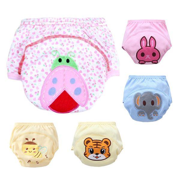 afb596fc3 Pantalones impermeables de bebé para niños Ropa interior para niños  pequeños Pantalones de entrenamiento reutilizables Bebé