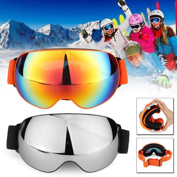 Men Women Ski Goggles Double Layers Anti-fog UV Big Ski Mask Glasses Skiing Snow Snowboard Goggles Eyewear