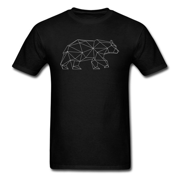 Bear in Form Design Short Sleeve Tees Summer Fall Crewneck Pure Cotton Young Top T-shirts Design Clothing Shirt Graphic