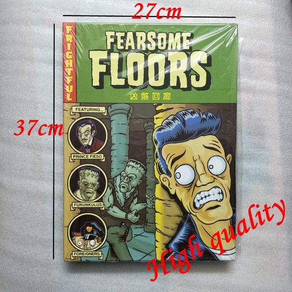 Fearsome Floors Board Game 2-7 Players Cards Games With English Instructions Easy To Play Funny Game For Party Family Gift