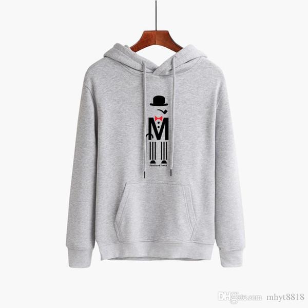 Großhandel Personalisierte Herrenmode Sport Pullover Mode Print Langarm Hoodie Verdicken Sport Sweatshirt S Größe 3 Bis 3XL Große Größe Von Mdyt0210,