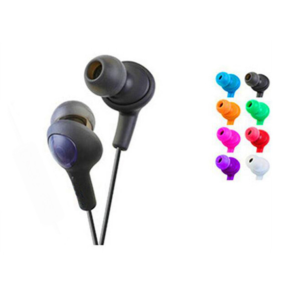 Gumy Gummy Earphone Earbuds HA-F160 HA F160 Bass DJ Earphone 3.5mm Headphone For Iphone 6 5 Ipad Samsung HTC with retail box