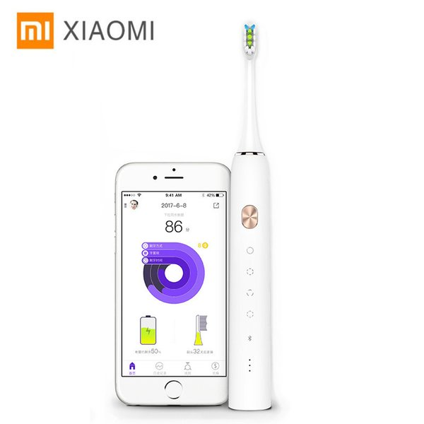 Xiaomi Soocare X3 Soocas Upgraded Electric Sonic Smart Toothbrush Bluetooth Waterproof Wireless Charge Android iOS Mi Home APP C18111501