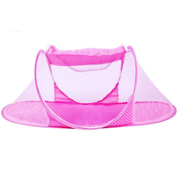Infant Baby Bedding Crib Mosquito Net For Baby,portable Mosquito Mesh Netting Toddler Cots,fodable Summer Nets Insect