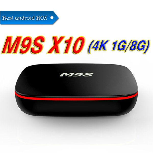Best M9S X10 Quad Core RK3229 Android 7.1 TV BOX With Customized TV Box 4K Media Player Better MX2 Amlgoic S905W MXQ PRO 4K