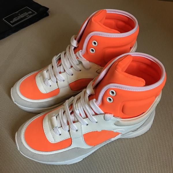New Designer Ricamato Top Quality uomo e donna ACE in vera pelle Designer Sneakers biancoLuxury Scarpe Casual wl180601701