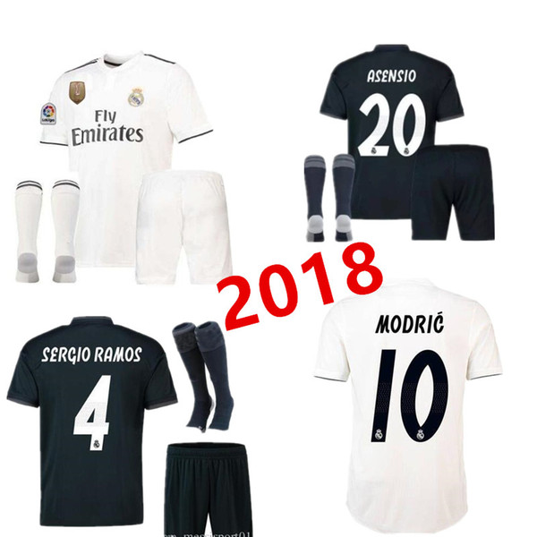 super cute 560a0 41eb7 2019 2018 2019 Fan Edition Away Jersey Real Madrid Football Jersey 18 19  Jersey The Ronaldo Bell Football Shirt Asensio Sergio Soccer Jerseys From  ...