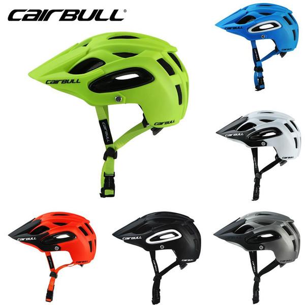 2018 ALLTRACK Casco per bicicletta All-terrai MTB Cycling Bike Sport Casco di sicurezza Off-Road Super Mountain Bike Cycling BMX
