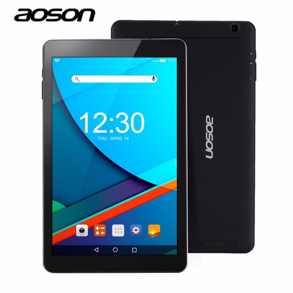 GPS AOSON R101 10,1 Zoll Android Tablet 2 GB RAM 16 GB ROM Android 6.0 Wifi Netbook Quad Core IPS 1280x800 Dual-Kamera 10