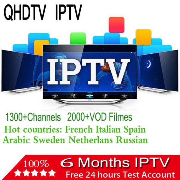 QHDTV Live Sports French Italia Spain 1300+ Europe IPTV Arabic