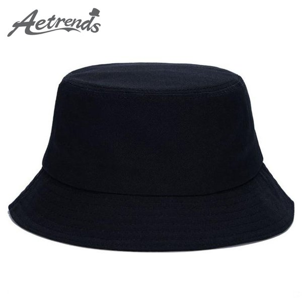 Sıcak Satış 7 Katı Renkler Kadınlar Için Kova Şapkalar Erkekler Panama Geniş Fedora Kap Ücretsiz Boyutu 57-58 CM Ucuz toptan