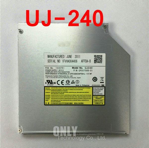 Spedizione gratuita New Matashita UJ-240 UJ240 Blu-RAY BDRE DVD Rewriter 12.7mm Sata Laptop Bluray unità ottica
