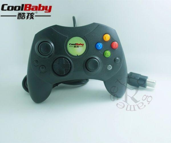 Classic Wired Joypad Controller For Microsoft Original Xbox Controller For XBOX Black Gamepad Retro Joystick Controle