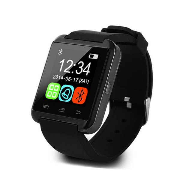 Bluetooth Smart Watch U8,Smartwatch for iPhone 5S 6 6S 6 plus 7 7s 8 Samsung S6 S7 Note 4 Note 5 HTC Android Phone Smartphones