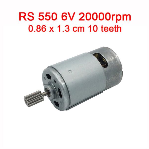 550 6V 20000rpm