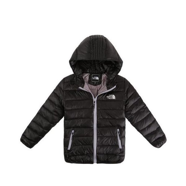 Куртка для мальчиков 2019 Зимняя куртка для девочек Куртка для детей Теплый с капюш