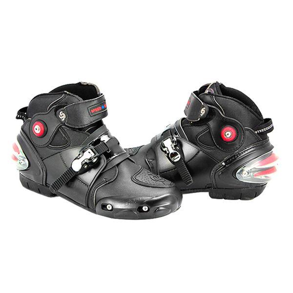 Motorcycle Boots Pro-biker SPEED Bikers Moto Racing Boots Motocross Motorbike Shoes