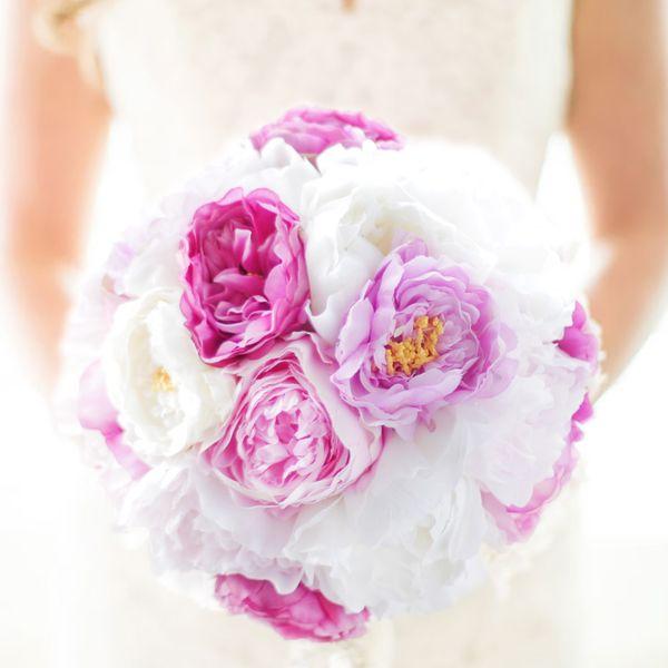 Iffo новый эксклюзивный заказ свадебный букет невесты высокий набор корейский моделирование порошок белый пион букет декоративные цветы