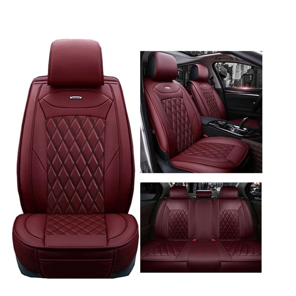 best selling Luxury PU Leather car seat covers For Mercedes Benz A B C D E S series Sprinter Maybach CLA CLK car accessories seat cover