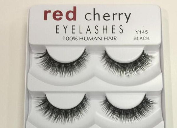 Sell Hot 2018 Red Cherry 3D False eyelashes 5 pairs pack 8 Styles Natural Long Professional makeup Big eyes High Quality
