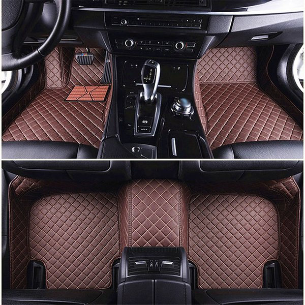 3D Luxury Custom Car Floor Mats for Audi A1 A3 A4 A4l A5 A6 A6L A7 A8 Q3 Q5 Q7 S and RS series car carpet mat universal alfombras coche