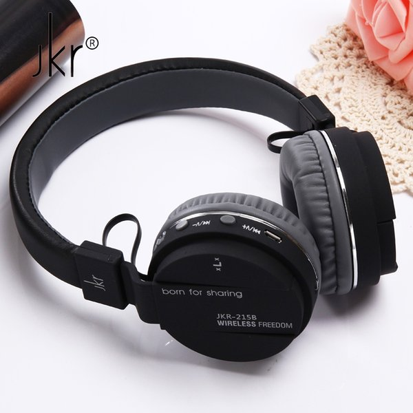 JKR Hifi Auricular Big Casque Cordless Wireless Blutooth Headphone Bluetooth Earphone For Phone Headset Head Sluchatka Headfone Fashion