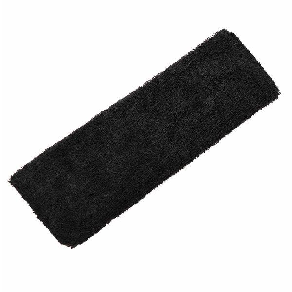 1PC Unisex Elastic Sweatband Headband Tennis Basketball Yoga Sport Color:Black