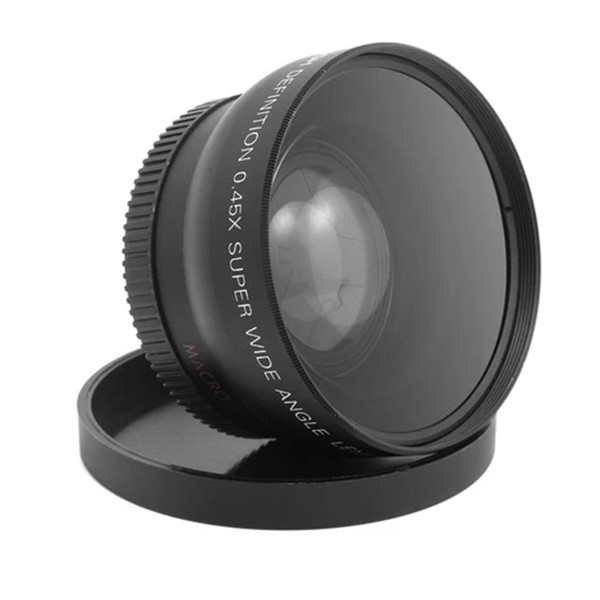 top popular Freeshipping 1set 58MM 0.45x Wide Angle Macro Lens for Nikon D3200 D3100 D5200 D5100 PromotionHot New Arrival 2021