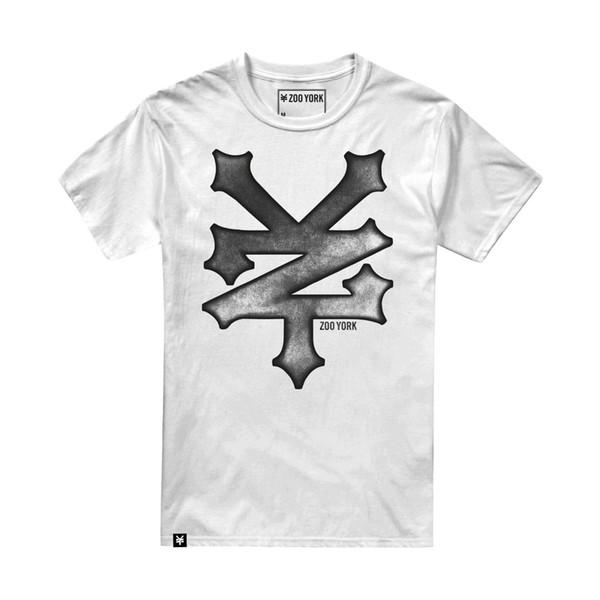 Mens Zoo York - Zerok Logo - Camiseta - Blanco