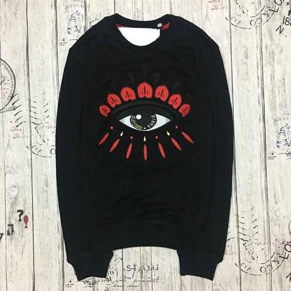 best selling men's women's Paris embroidery tiger head hoodie sweater men women eye hiphop hoodie apes Justin bieber Shark long sleeve fleece men hoodies