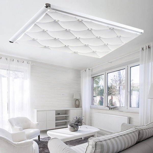 Led ceiling light modern brief dimming ultra-thin rectangle living room lamp bedroom lamp remote control ceiling light