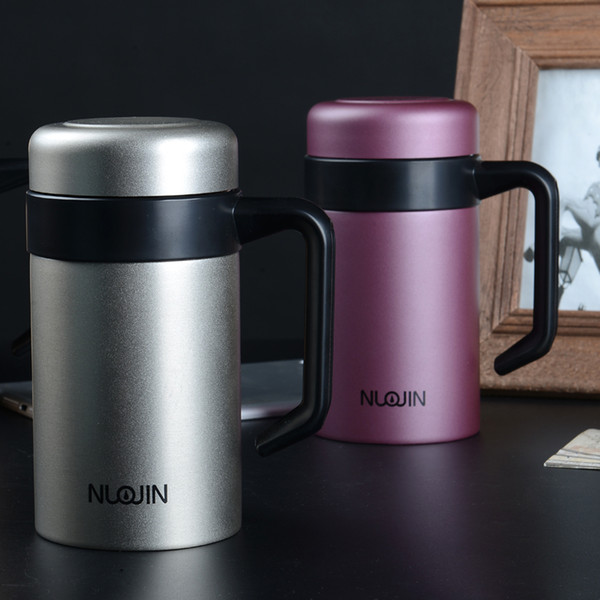 16oz Classic Stainless Steel Vacuum Thermocup Hot Cold Thermo Water Bottle Flask Termica Travel Mug Coffee Mug Beer Cup