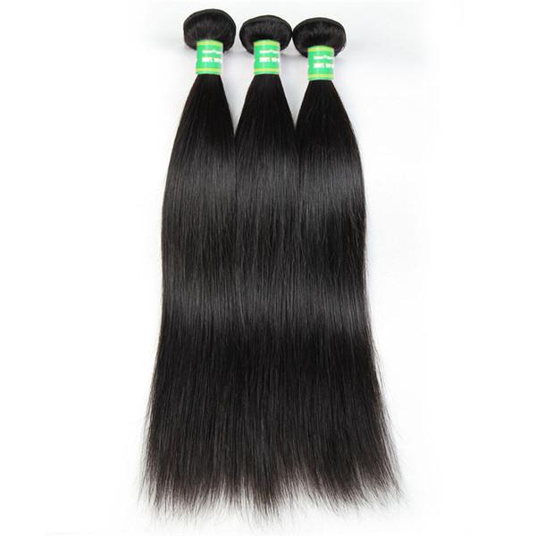 8A Brazilian Straight Hair Bundles Natural Color 3 PCS 100% Human Hair Weave Bundles 8-28 inch Remy Hair Extension