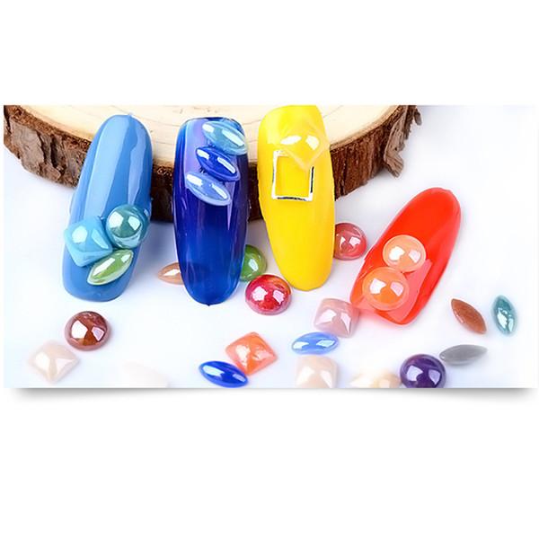 Compre Pegatinas De Uñas Multicolor Perla Arte De Uñas Piedra Diferente Tamaño Rueda Rhinestones Granos Cristales Para Diseños 0921 A 3489 Del
