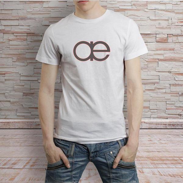 Autechre Logo Electro Music Group T-Shirt Branco Camiseta