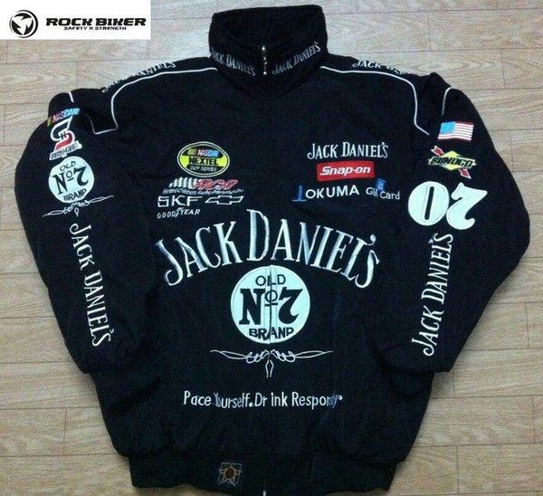 2018 Jack broderie coton Nascar Moto Car Racing Racing Team Suit