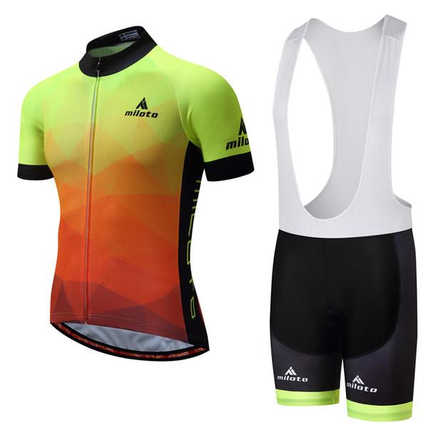 01 Cycling Jersey Bib Sets