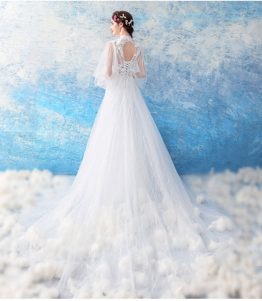 2018 New Cheap Chinese Style In Cheongsam Neck Mermaid Princess ...
