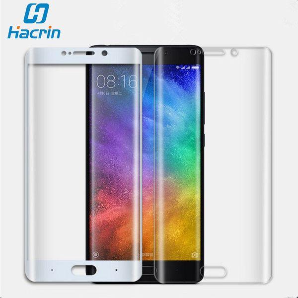 Per Xiaomi Mi Note 2 pellicola di vetro temperato 3D superficie curva anti-esplosione copertura completa pellicola proteggi schermo per Xiaomi Mi Note 2
