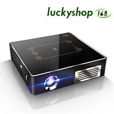 Android pocket projector C9 PLUS Android 7.1 2.4G/5G Wifi RK3328 2G/16GB Bluetooth 4.0 PK C6 4k dlp mini projector 1pcs