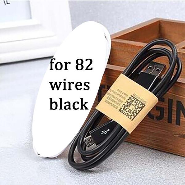 1m 82 Telleri Siyah Micro USB Kablo