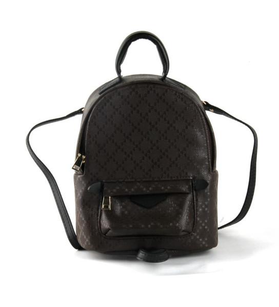 top popular Wholesale mini backpack for women shoulder bag handbag presbyopic mini package messenger bag mobile phonen purse Genuine leather fashion 2020