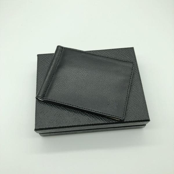 2018 Luxury Men's Soft Leather Deluxe M B Money Clip Black Short Credit Card Holder MT Pocket High Quality Wallet Bestseller