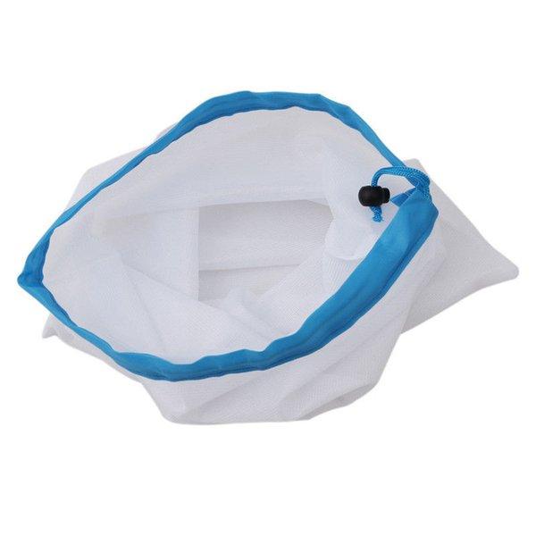 S/M/L Mesh Produce Handbags Vegetable Fruit Toys Storage Bags Travel Gadgets Closet Kitchen Accessories Home Decor 65pcs