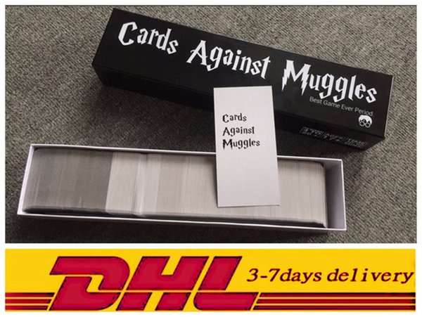 Cards Against Muggles The Harry Potter Version The game strictly for adult player Funny Card Games Interesting Making Fun 1359pcs/set Real